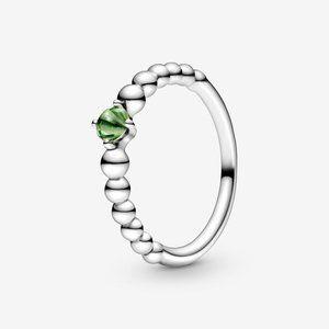 🔥PANDORA Spring Green Beaded Ring